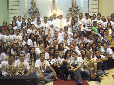 JM da Diocese de Penedo/AL presentes no BOTE FÉ