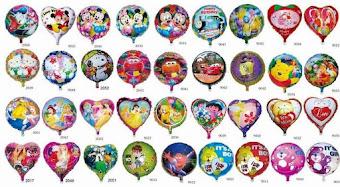 Balon Foil / Balon Pvc
