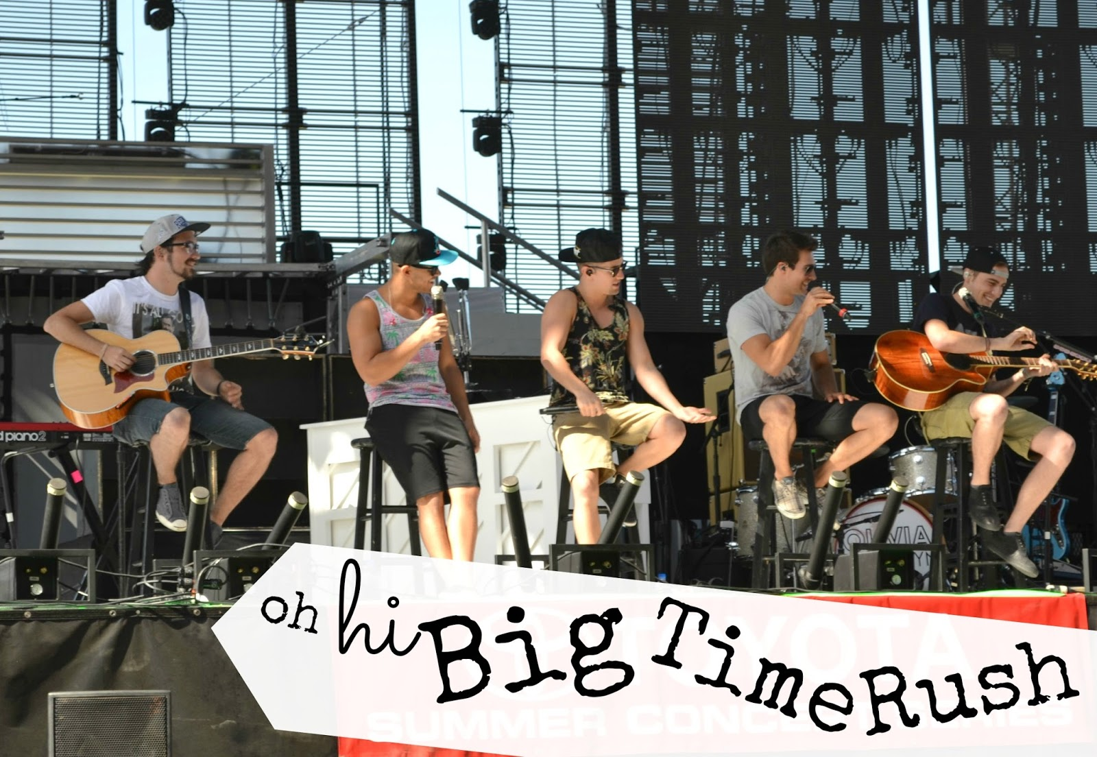 Mommy Testers Girls Just Wanna Have Fun Hey There Big Time Rush