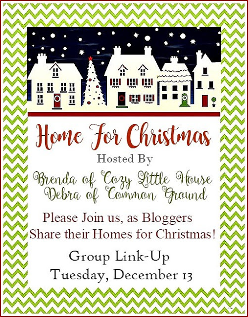 Home for Christmas Linky Party