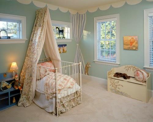 koleksi gambar tempat tidur bayi lucu desain denah rumah