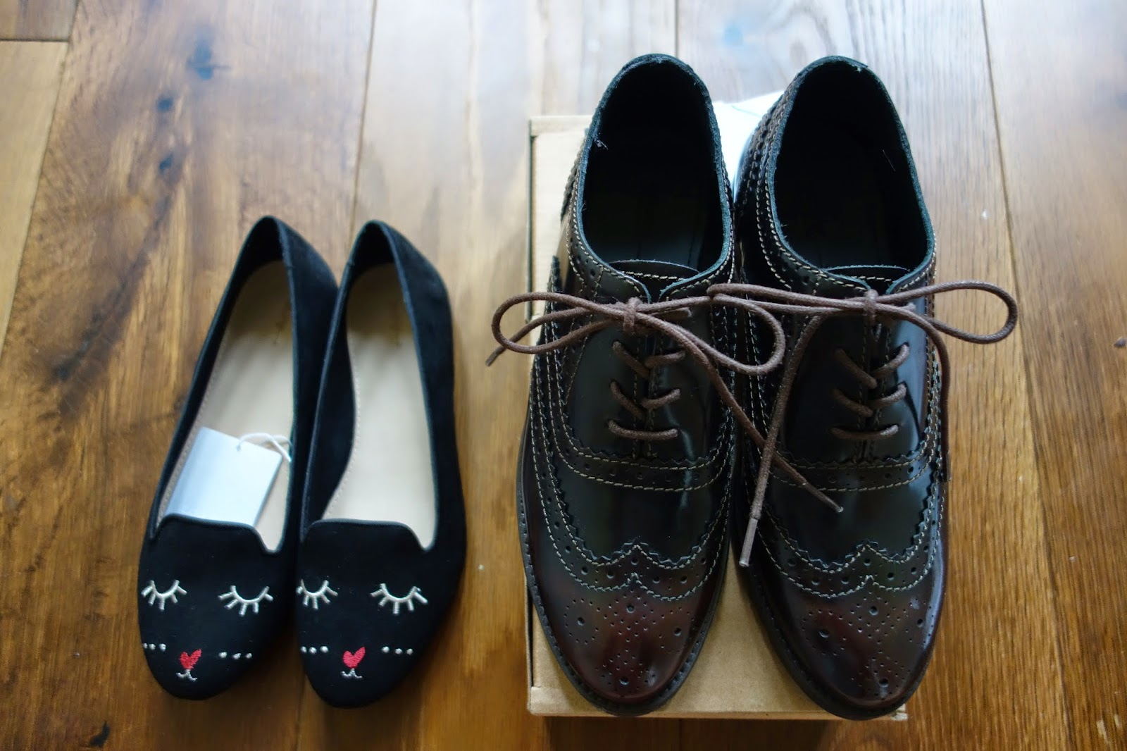 オックスフォード本革の靴も可愛い猫ちゃんの靴もkids価格で手に入り満足♥ しかも私みたいに足が小さい人だけではなく、kidsサイズは最大25.5cmぐらいまであるみたい