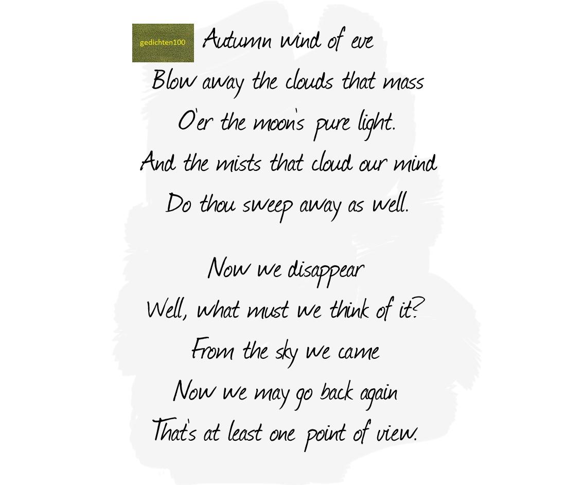 Gedichten Gedichten Overlijden