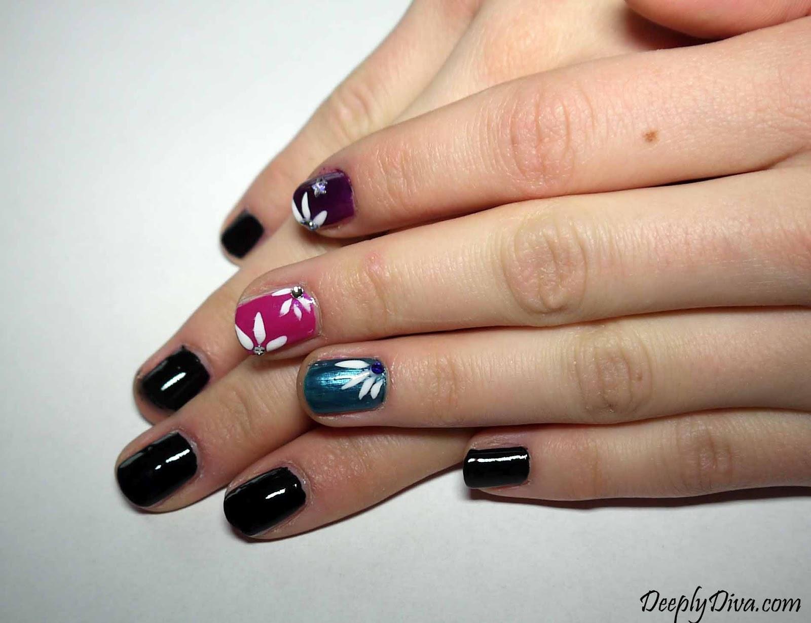 Deeply Diva: Nail art super facile per NEGATE!!