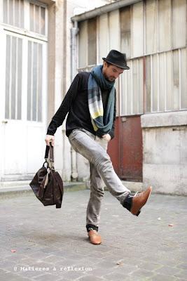 Mode Homme : derbies anniel, jeans Thvm atelier ...