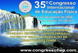 35º Congresso Internacional de Educação Física – FIEP 2020.