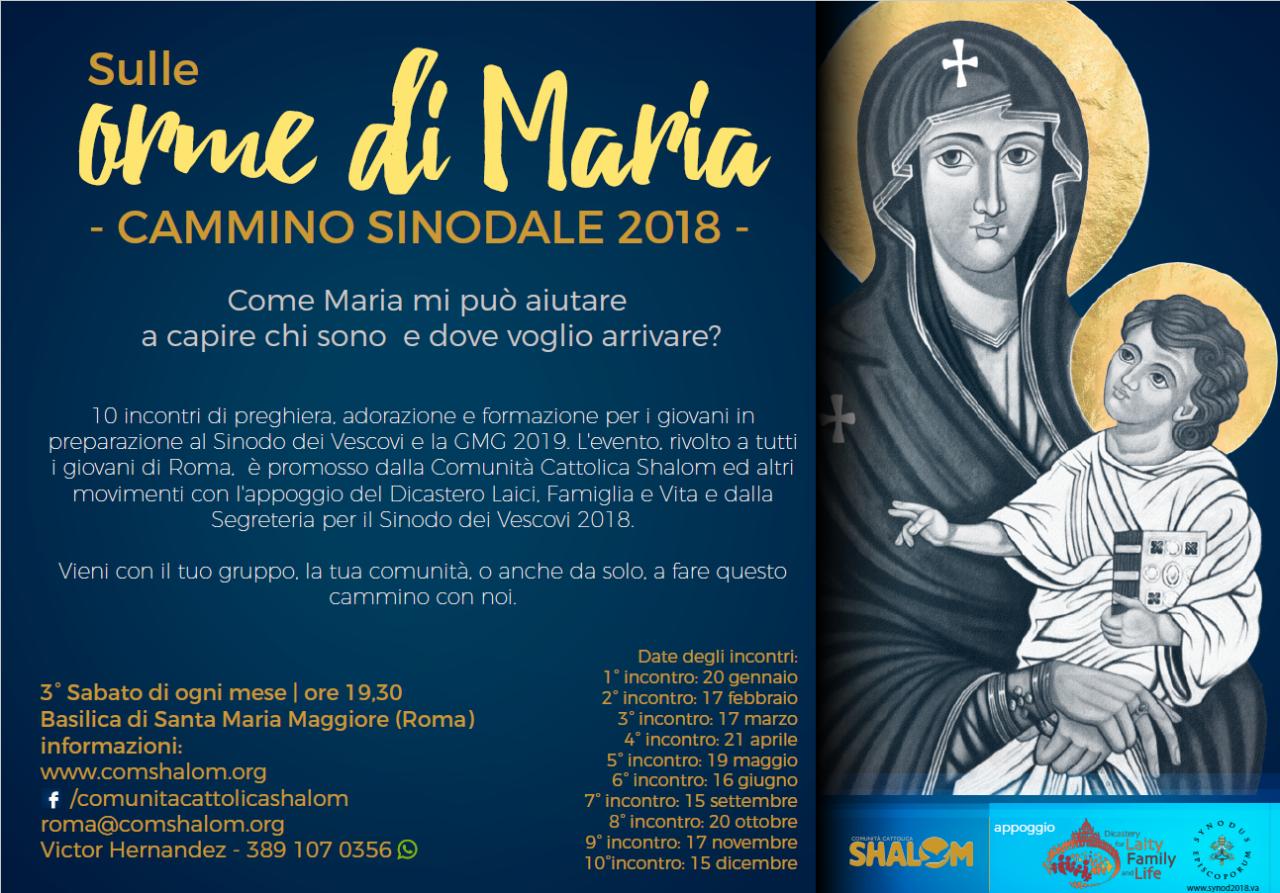 Sulle orme di Maria