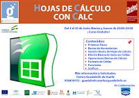 Curso de Hojas de Calculo con Calc en Guadalinfo Atarfe