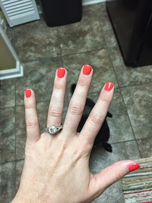 Chuck and Lori's Travel Blog - Catie's Engagement Ring