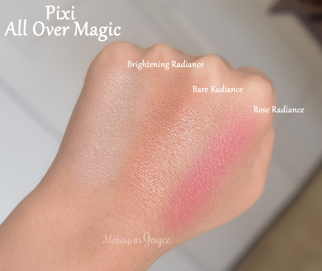 Pixi All Over Magic Bare Radiance Swatch