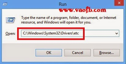 Truy cập file hosts nhanh