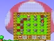 Esse super jogo é uma mistura dos personagens de Mario e o ambiente de bomberman. Divirta-se com essa mistura que deu certo.