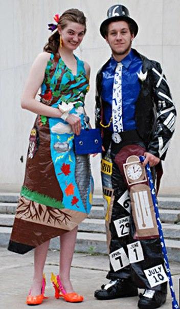 Duct tape prom dress 2013