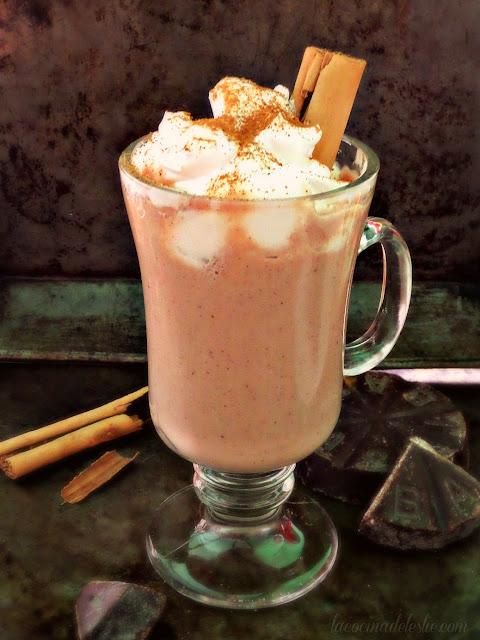 Mexican Hot Chocolate Atole - lacocinadeleslie.com