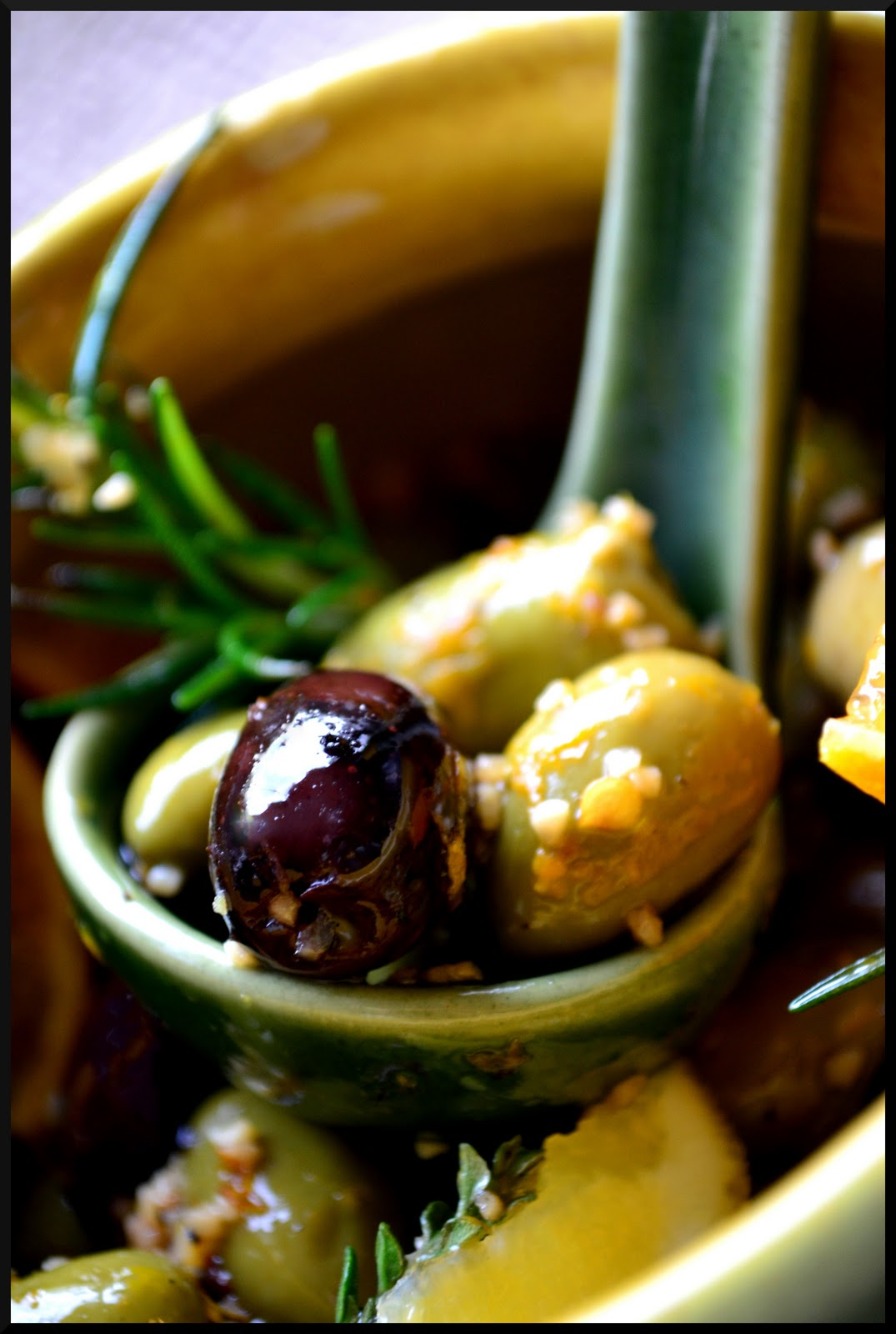 Citrus-Marinated Olives Recipe — Dishmaps