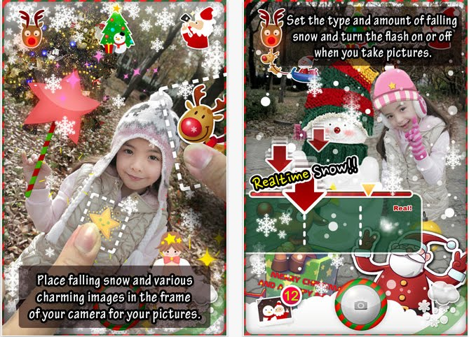 Top 5 Free Practical Christmas Apple Apps 2012 Software