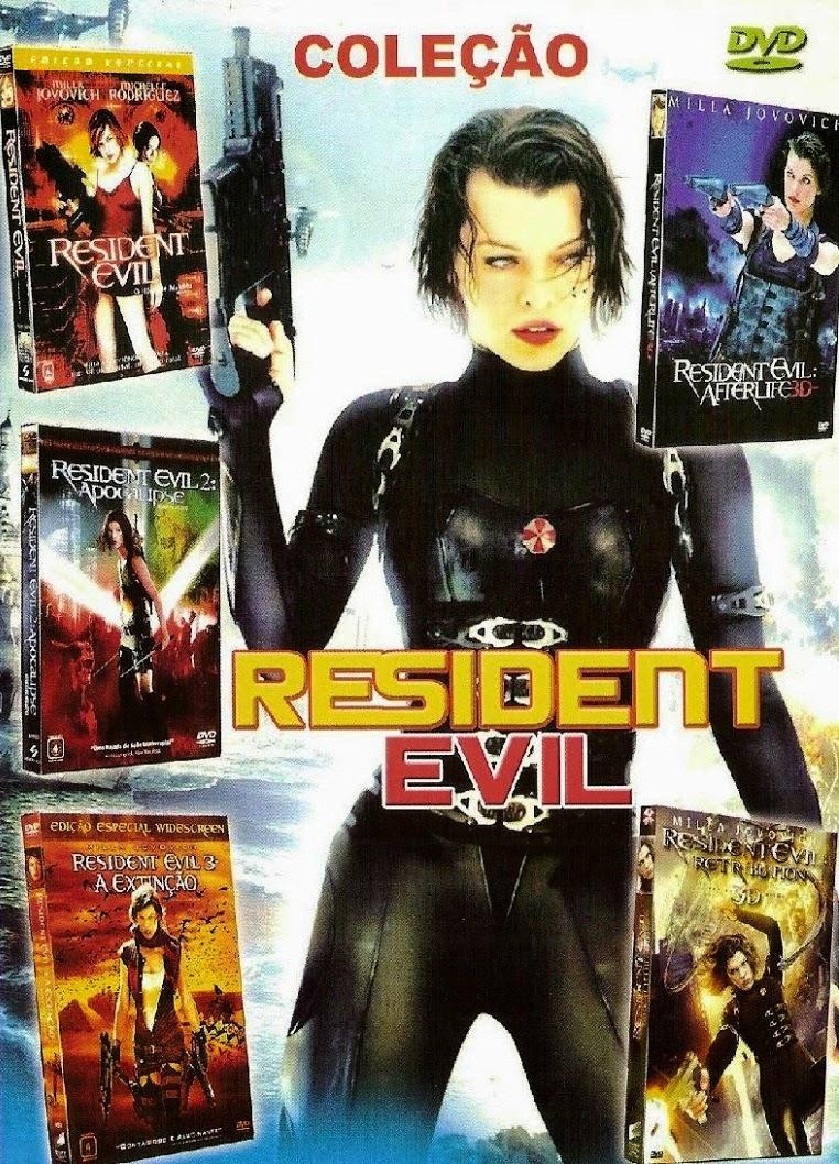 Coleção Resident Evil Completa