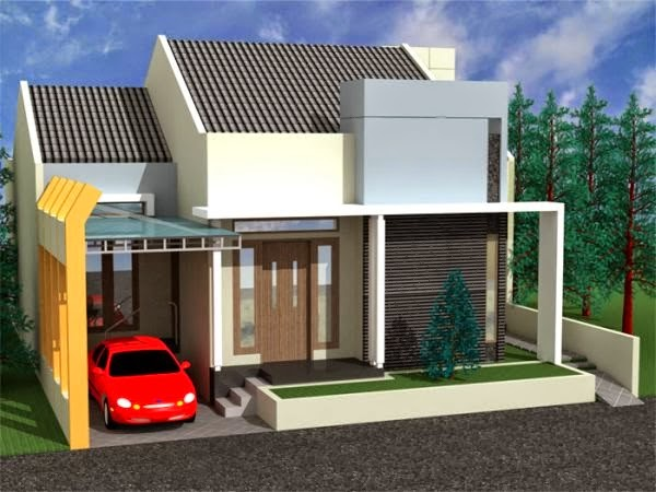 contoh model rumah minimalis 8