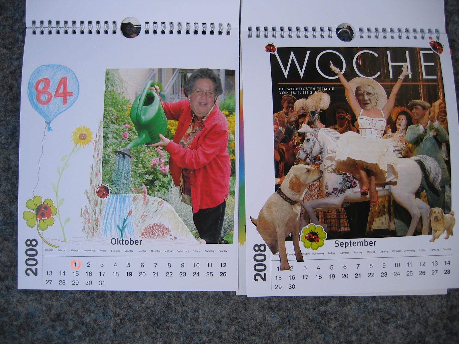 Schäfchen Silvia: Kalender basteln
