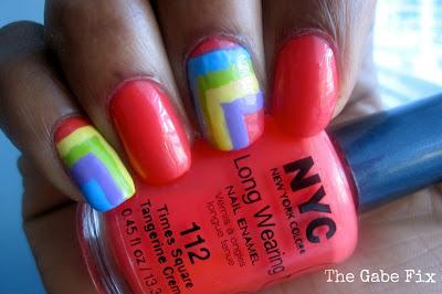 Manicure Monday – Multi Colored