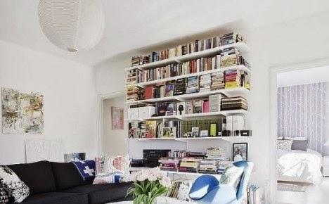 ไอเดียแบบมุมอ่านหนังสือในบ้าน