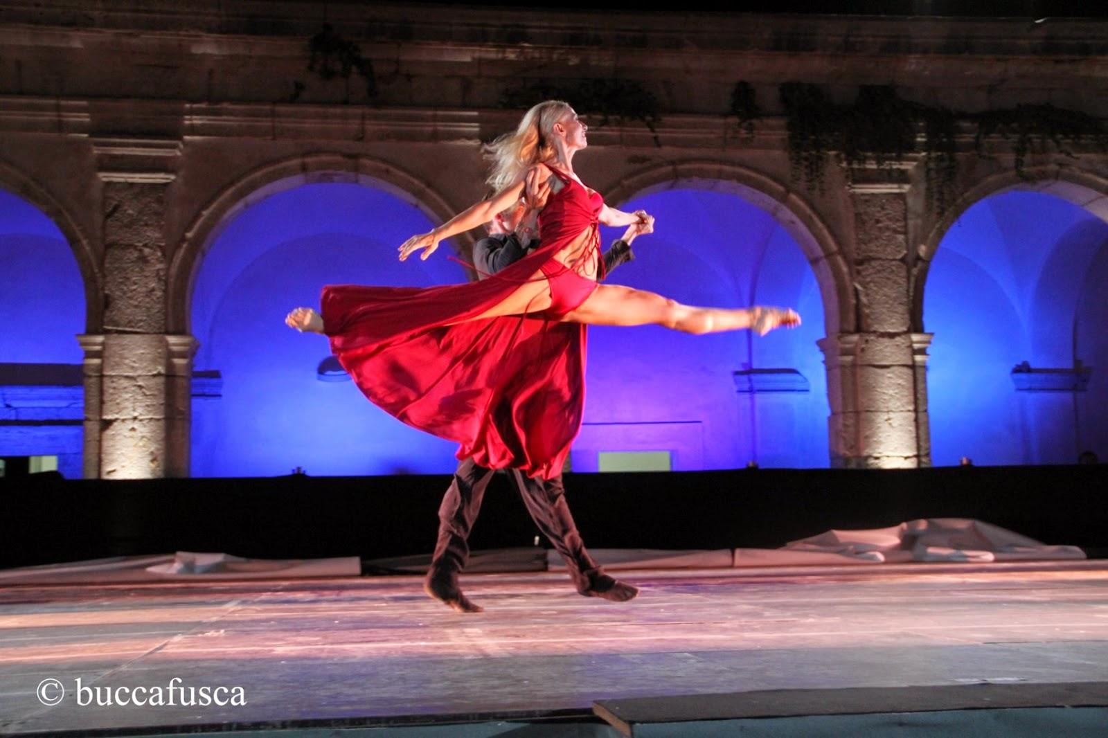 Gran gala di danza all'Arena del Mare di Salerno