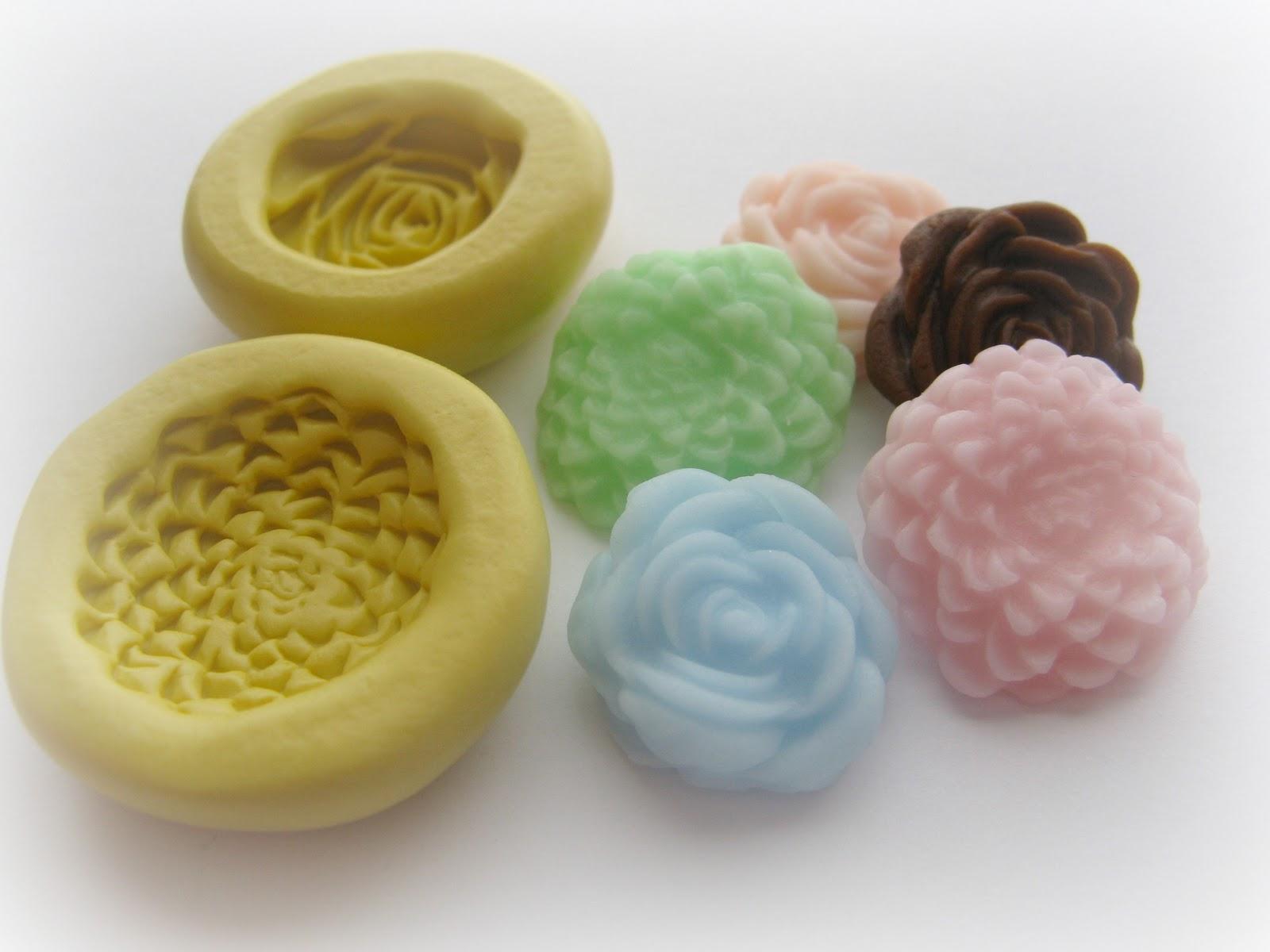 Dinkalulu Silicone Molds: Fondant Flower Molds