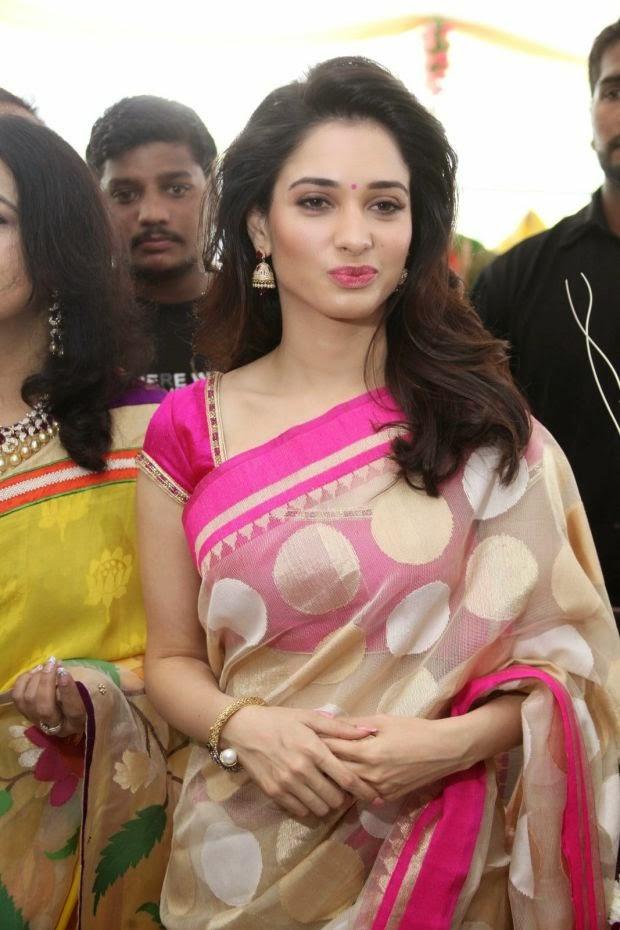 Tamanna launches Trisha showroom