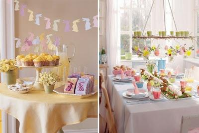 Dicas para decorar mesa de pascoa