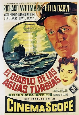 Cover, Caratula, Dvd: Hell and High Water | 1954 | El diablo de las aguas turbias