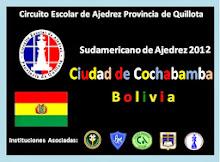 SUDAMERICANO DE AJEDREZ COCHABAMBA BOLIVIA (02-07 DICIEMBRE 2012)