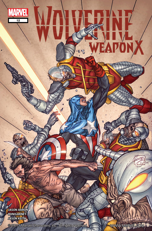 Wolverine: Weapon X #12 #5 - English 1
