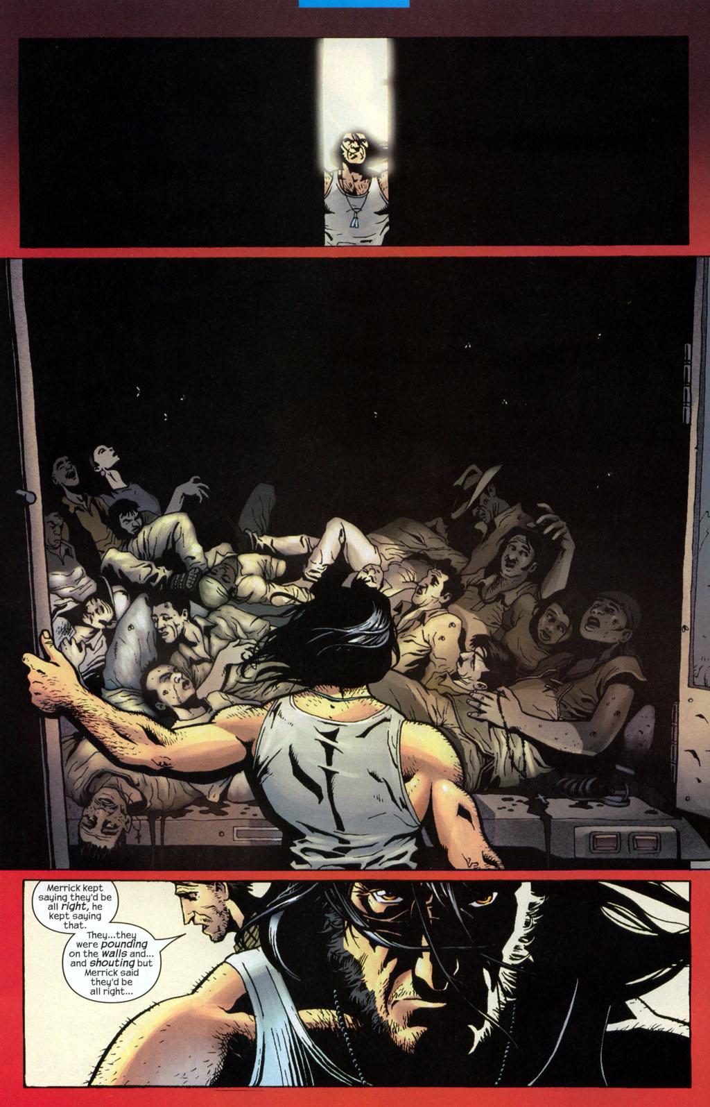 Read online Wolverine (2003) comic -  Issue #7 - 12