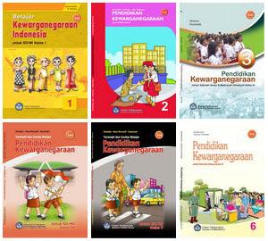 Buku Sekolah PKn SD Kelas 1-6