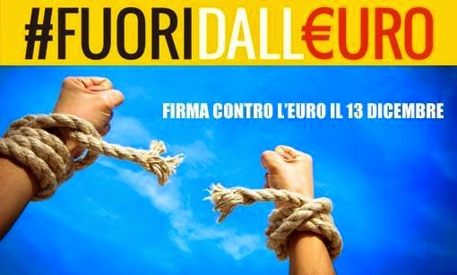 fuori dall'euro