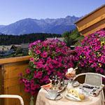 Balkon im Hotel Sonnenheim