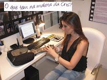 CHAMADA: Vem aí... O que tem na Maleta da Cris? Em breve - por Deborah Oliveira