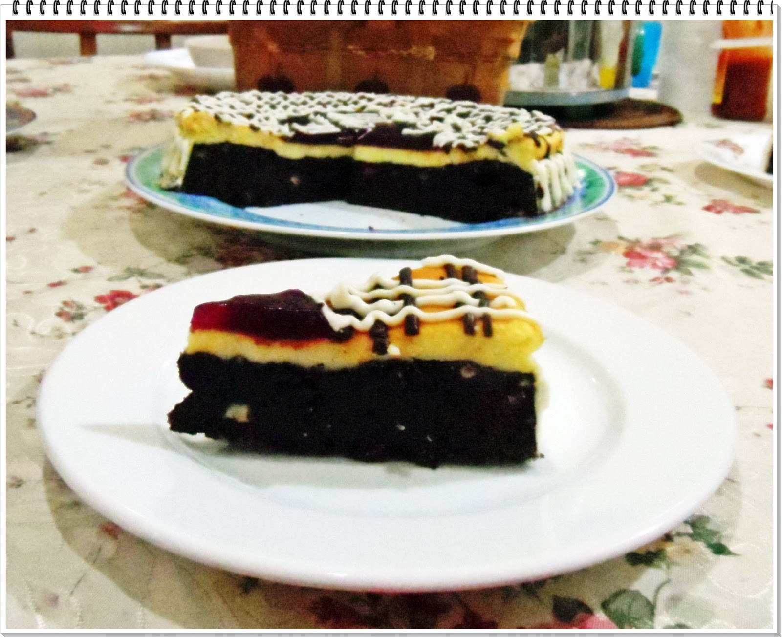 SinaranMenu: Cappuccino Brownie Cheesecake