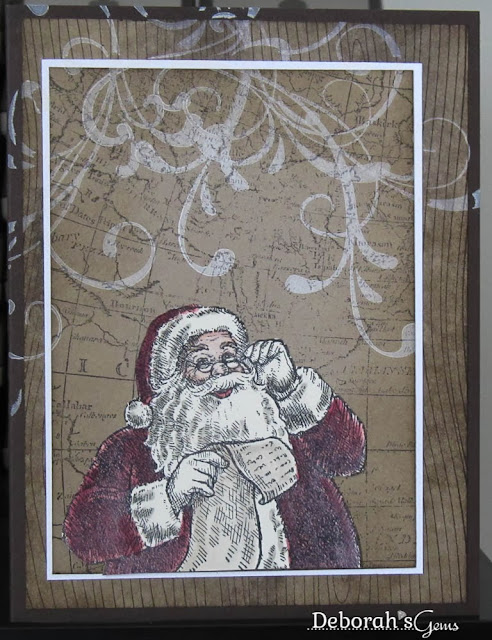 Santa's World - photo by Deborah Frings - Deborah's Gems - a CASE of Michelle Zindorf's card