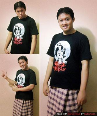 Kaos Karya Raya by Sukartoen