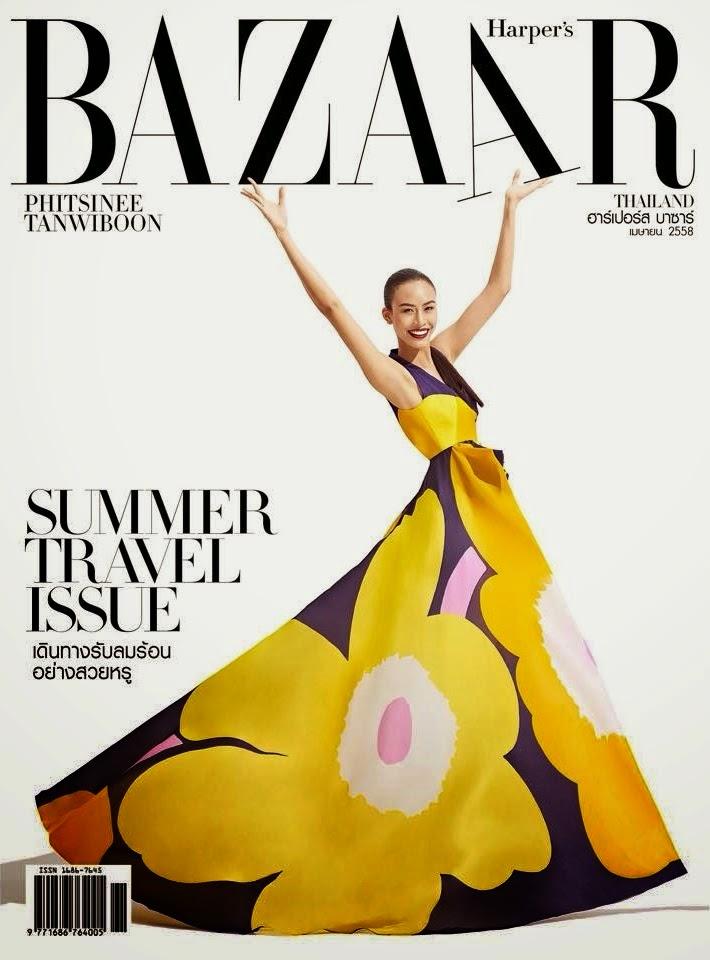 Model @ Si Tanwiboon - Harper's Bazaar Thailand, April 2015