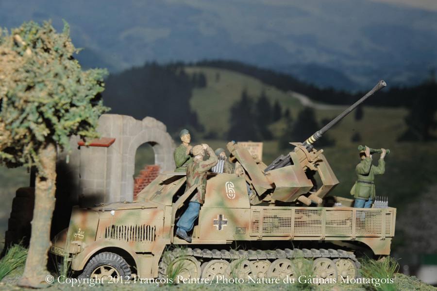 SdKfz 7/2 en Italie