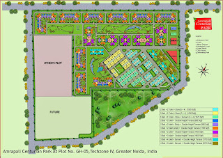 Amrapali Terrace Homes :: Site Plan