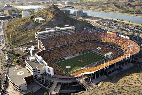 Today In Pro Football History Past Venue Sun Devil Stadium