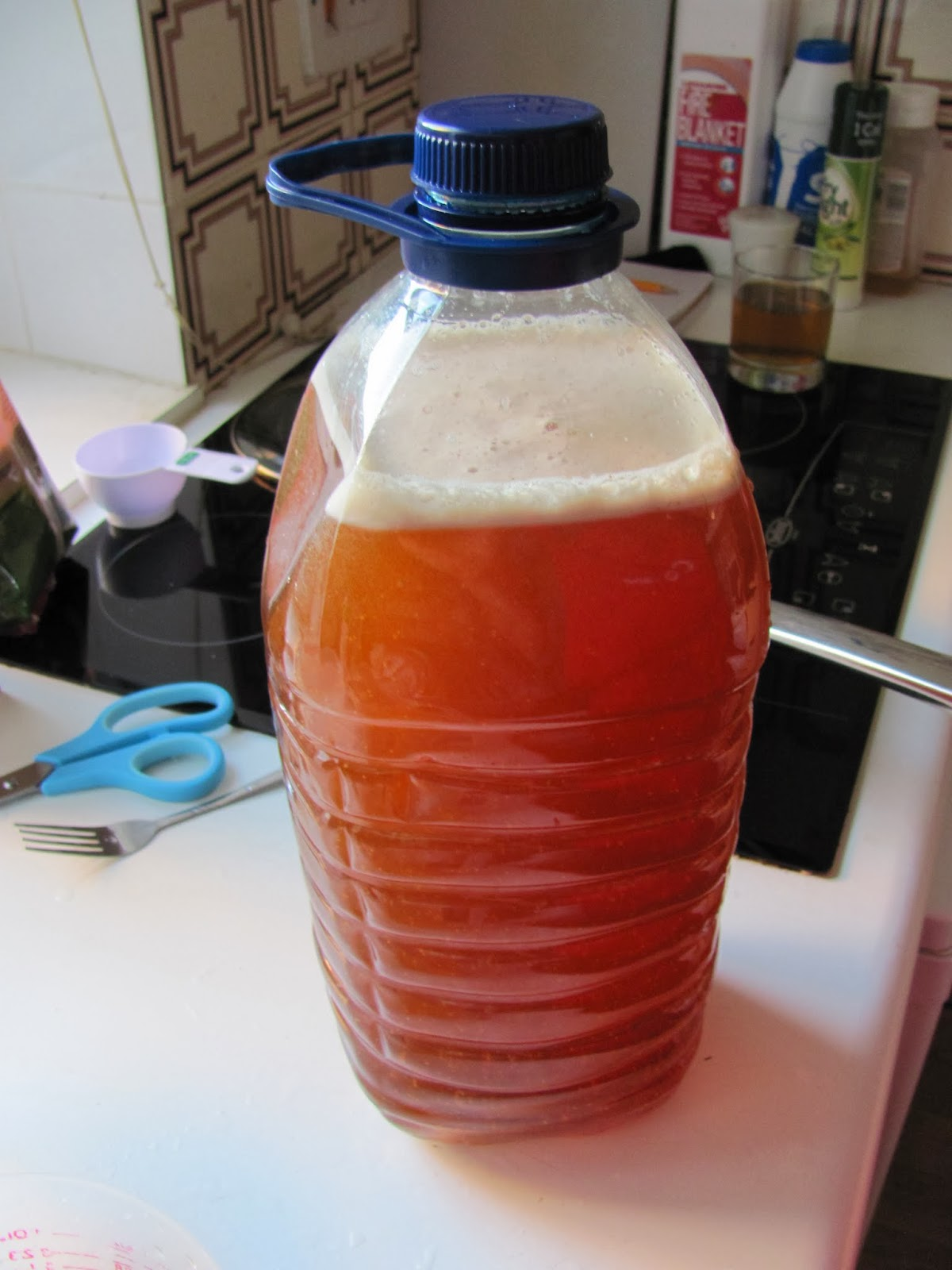 Cider is ready to ferment
