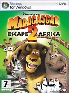 Madagascar: Escape 2 Africa PC Box