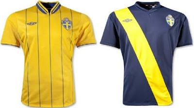 Jersey Swedia euro 2012