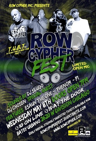 MAY 8 - ROW CYPHER