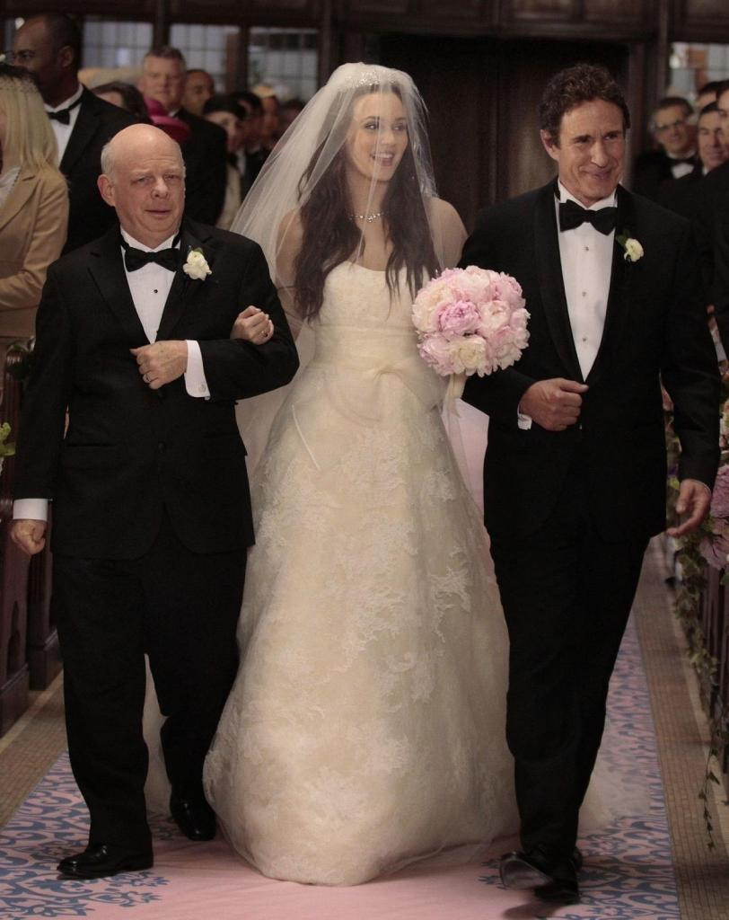 It blog blair waldorf 39 s wedding dress vera wang for Wedding dress blair waldorf