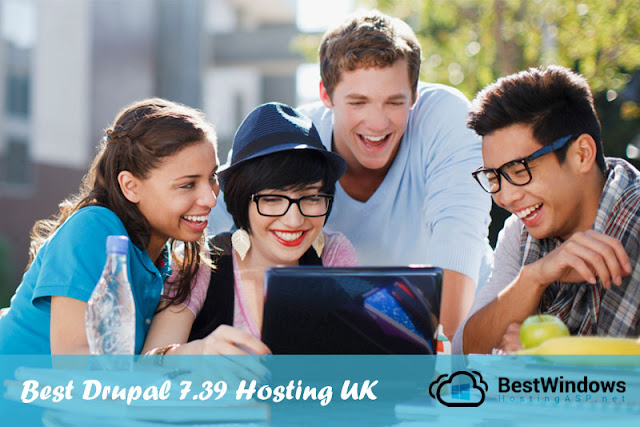 Cheap Drupal 7.39 Hosting in UK